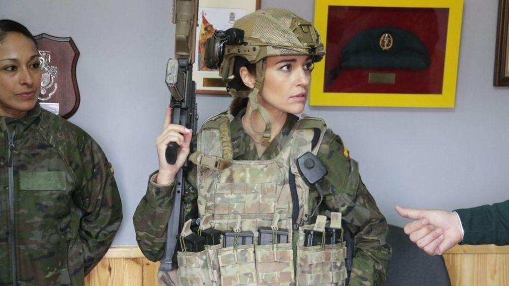 Paula Echevarría interpreta a la sargento primero Martina Ibáñez en 'Los nuestros 2'.