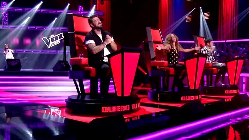 Rocío conquista a Rosario con su tema 'Qué bonito'
