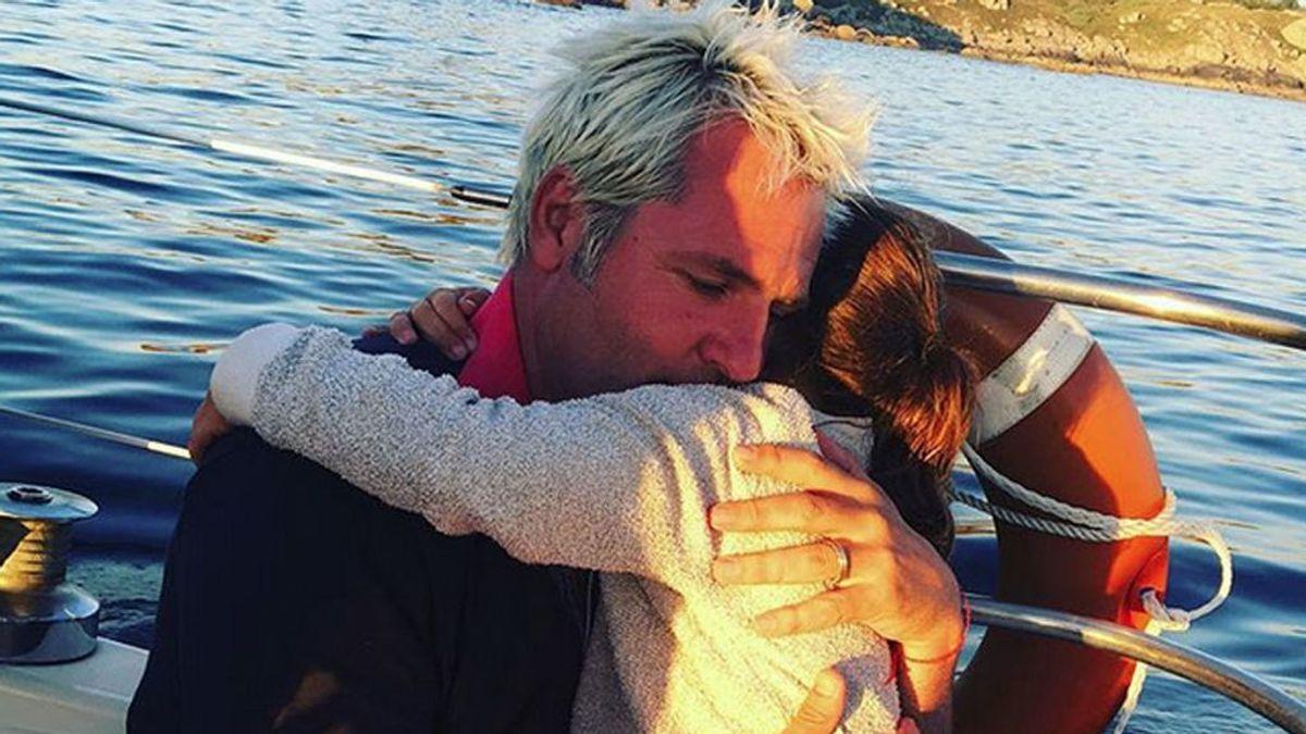 Santiago Cañizares junto a su hija - Instagram