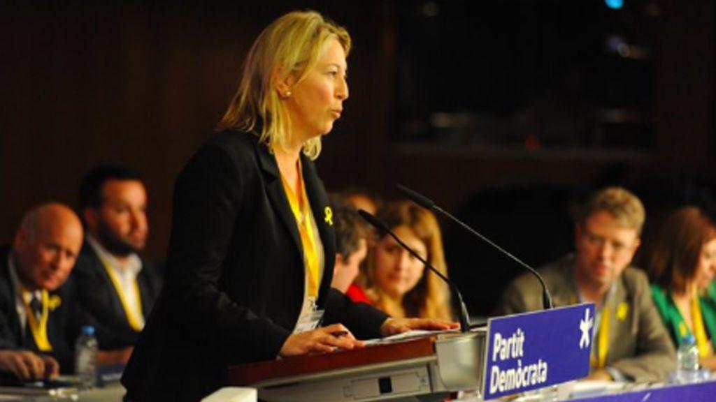 """Neus Munté propone un """"frente por la democracia"""" ante el Estado"""