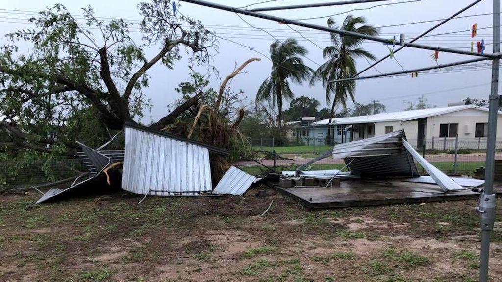 El ciclón tropical de categoría 3 'Nora' alcanza el norte de Australia