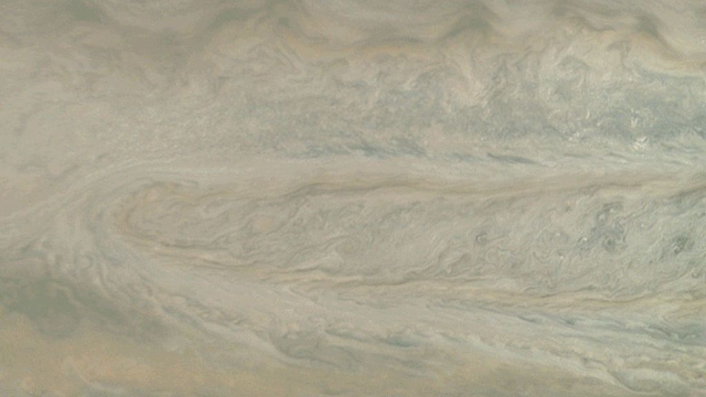 """La NASA capta un """"fantasma"""" en Júpiter"""