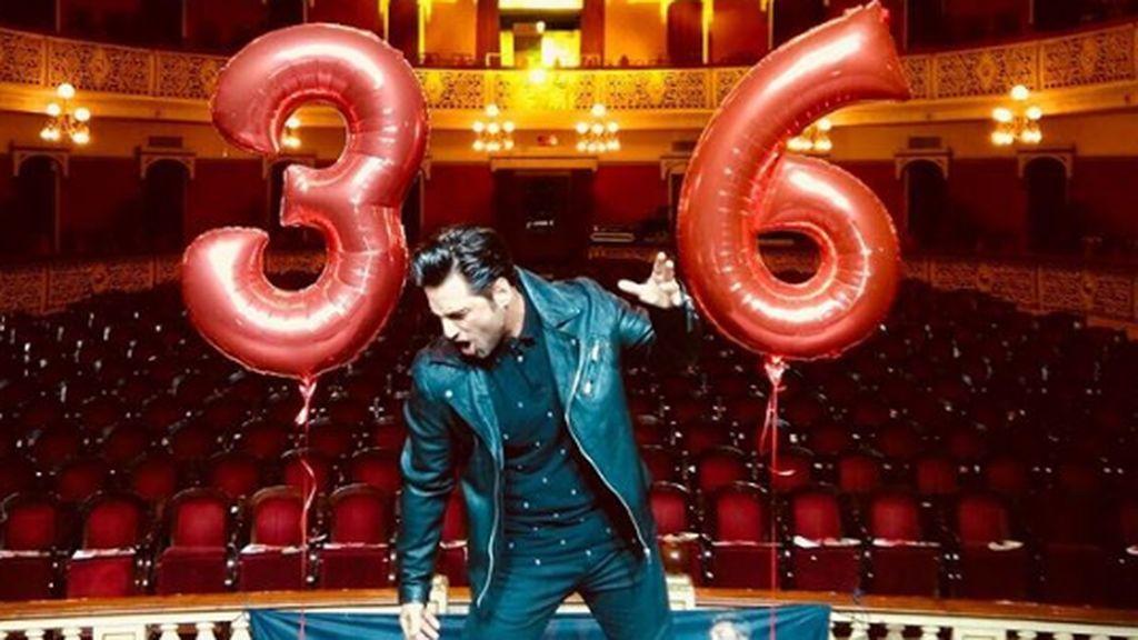 David Bustamante celebra su cumpleaños más díficil en la mejor compañía