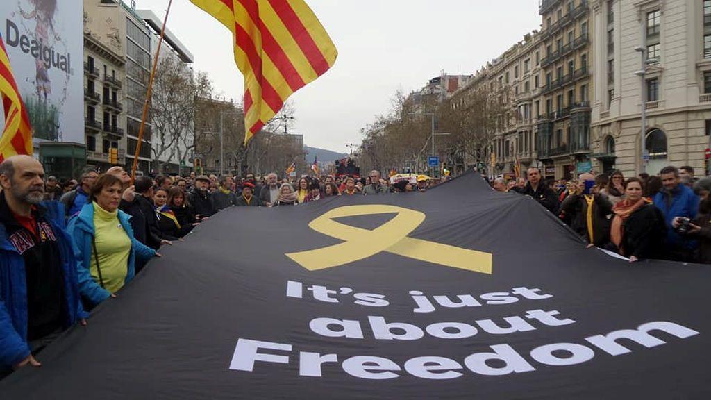 Barcelona  protesta