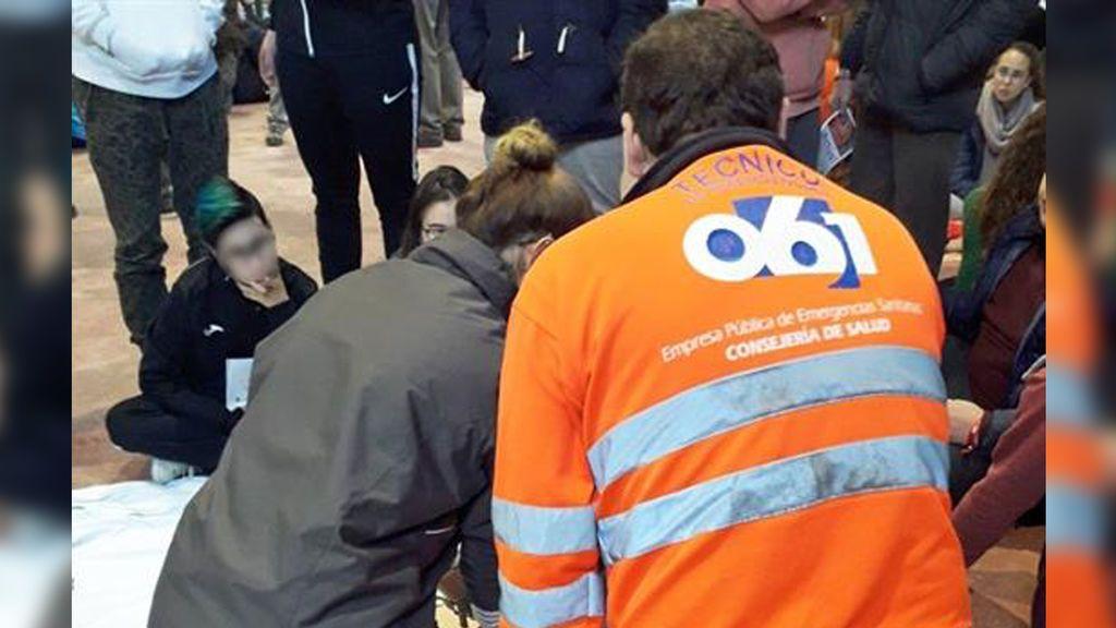 Un menor salva la vida a su padre en Pamplona mediante maniobras de reanimación