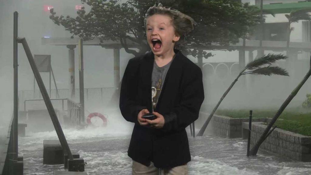 Carden Corts, el niño meteorólogo que se hizo viral