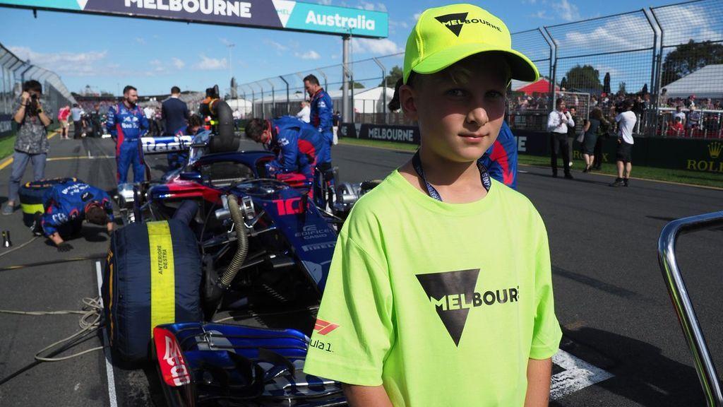 Los 'grid kids' hacen historia y debutan en el GP de Australia de Fórmula 1