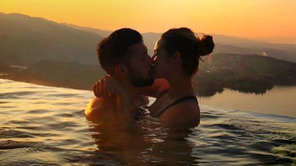 'Infinity pool', paisajes idílicos y mucho amor: El viaje express, sin niños, de Tamara y Ezequiel a los Alpes suizos