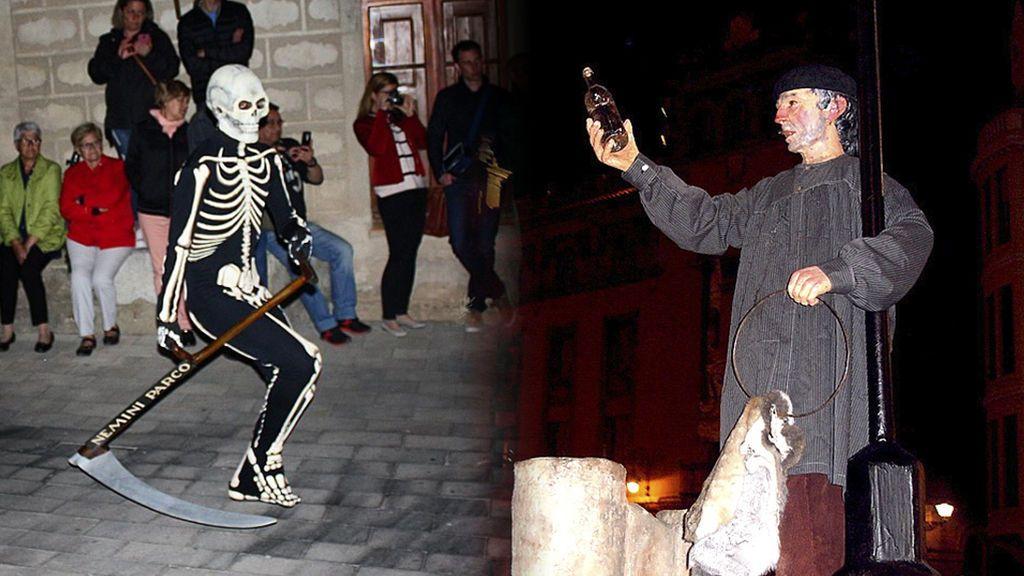Borrachos, esqueletos y gente que rompe su vajilla: las otras tradiciones españolas de Semana Santa