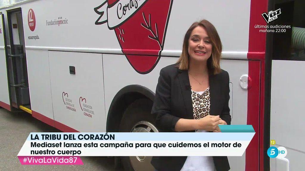 Toñi Moreno y el equipo de 'Viva la vida' se suman a 'la tribu'