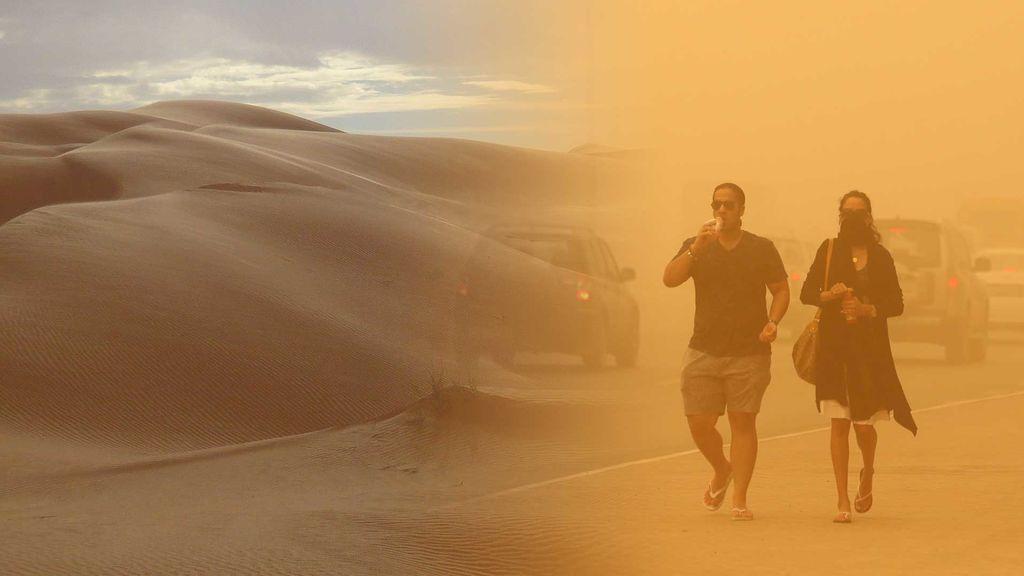 ¡Mucha precaución en Canarias! Llega una impresionante masa de polvo sahariano