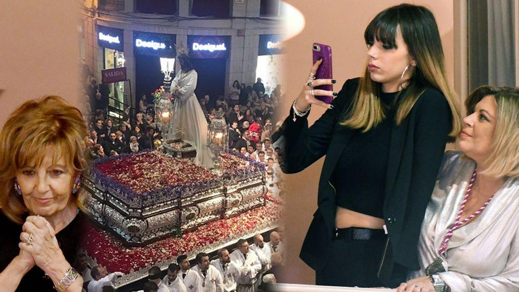 Desde Alejandra Rubio hasta María Teresa: Las Campos viven con devoción la Semana Santa