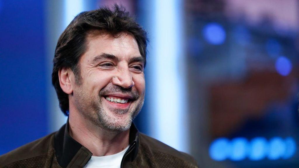 Javier Bardem, durante su visita a 'El hormiguero' para promocionar su nueva película, 'Loving Pablo'