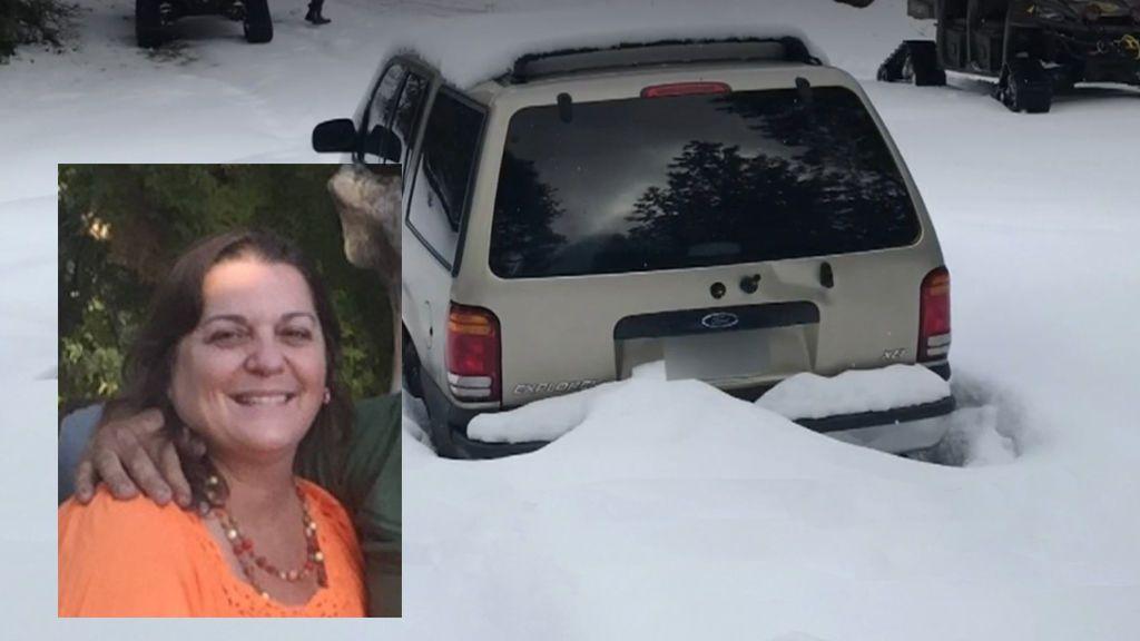 Una abuela en California es rescatada después de pasar diez días atrapada en la nieve