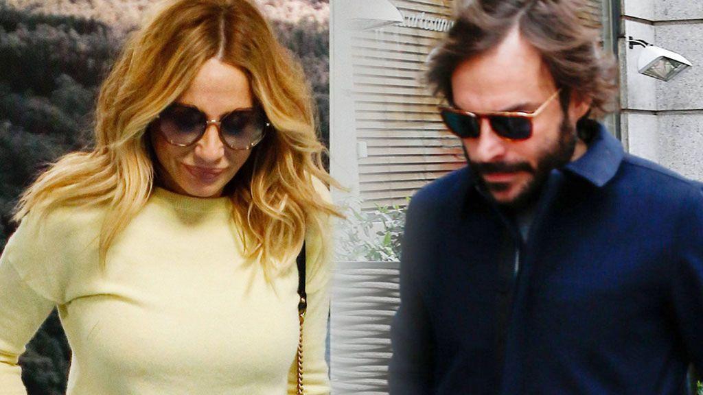 Marta Sánchez y su nuevo novio, Alexis Rosenfeld, de paseo por Madrid
