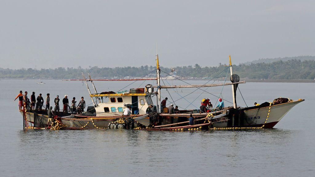 Pescadores filipinos