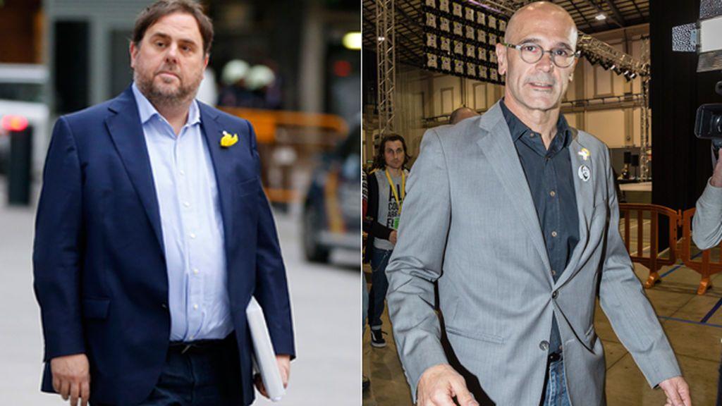 Junqueras y Romeva piden archivar su causa alegando que defendieron la independencia por vías legales