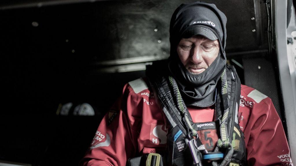 La organización da por perdido a John Fisher, el navegante de la Volvo Ocean Race que cayó al mar