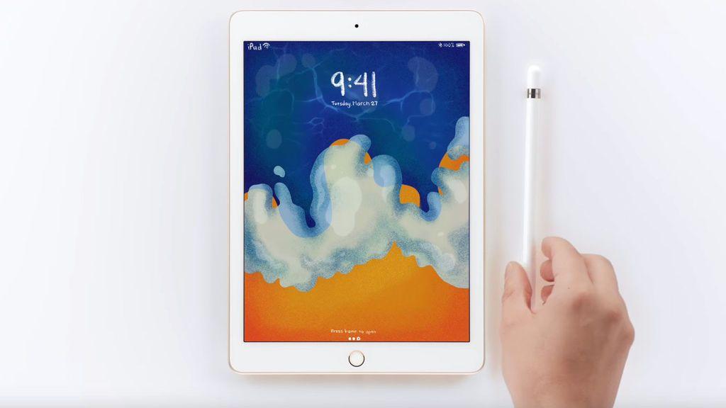 Apple presenta un nuevo iPad de 9,7 pulgadas compatible con el Apple Pencil