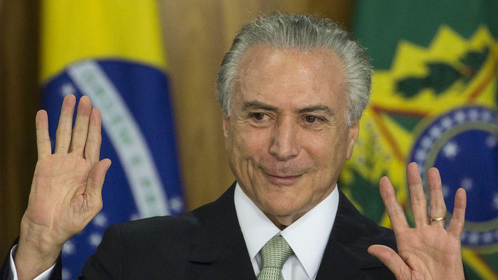 Detenidos un exministro y un exasesor de Temer en una investigación por corrupción en Brasil