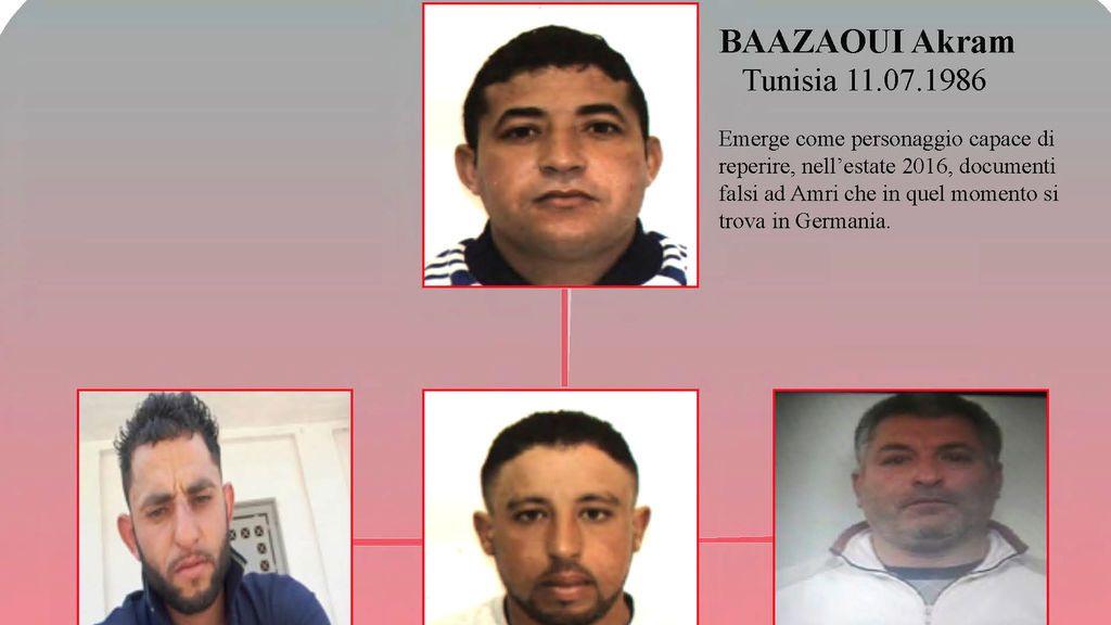 Detenidos en Roma por su posible vinculación con el atentado en Berlín