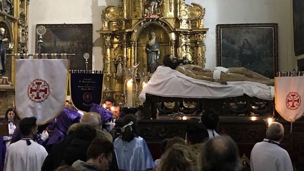 La lluvia obliga a suspender cuatro procesiones en la noche del Jueves al Viernes Santo en Valladolid