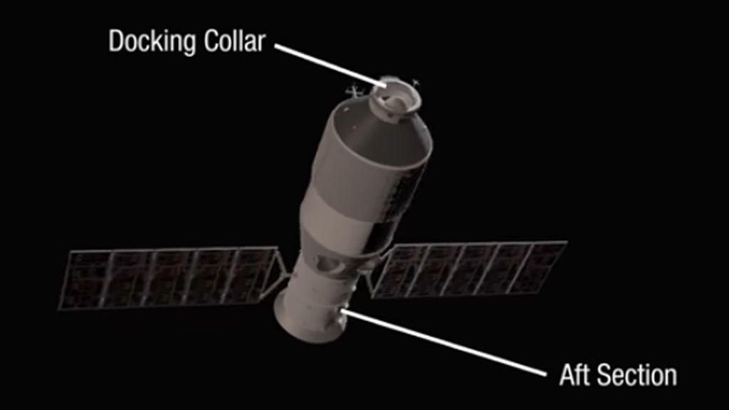 Pendientes de dónde caerá la estación espacial china Tiangong 1