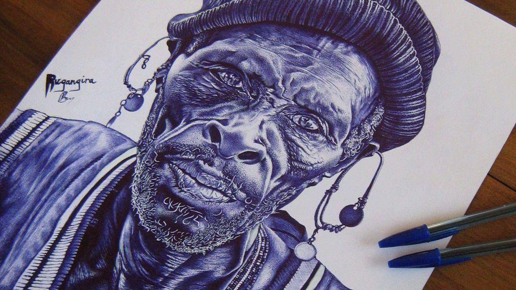 Los retratos más realistas realizados con un bolígrafo