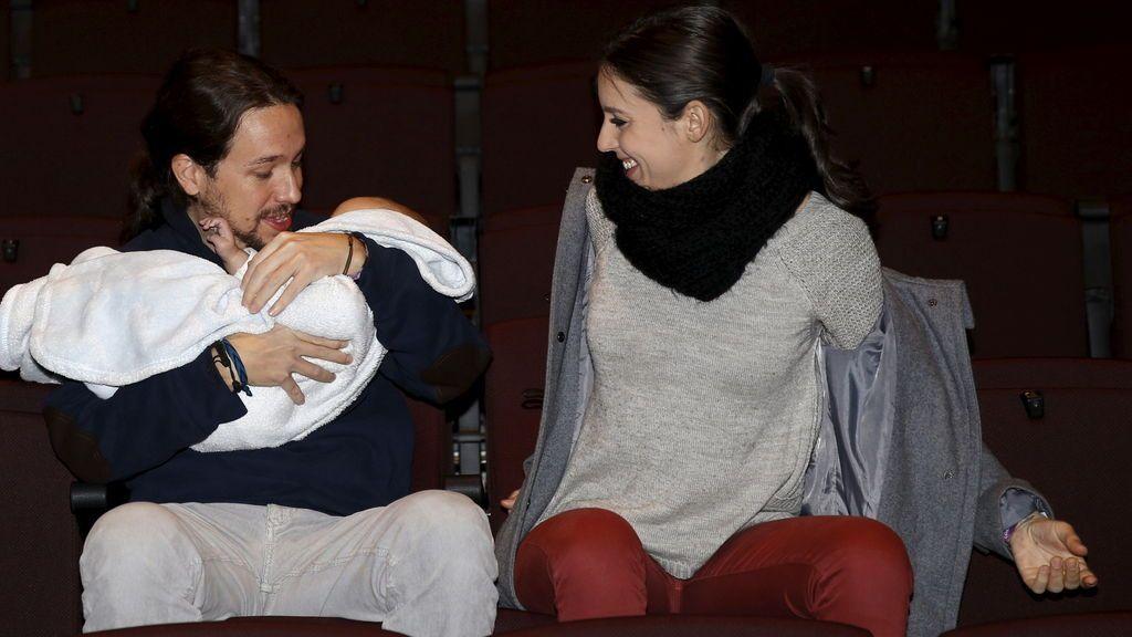 Pablo Iglesias e Irene Montero serán padres de mellizos el próximo Otoño