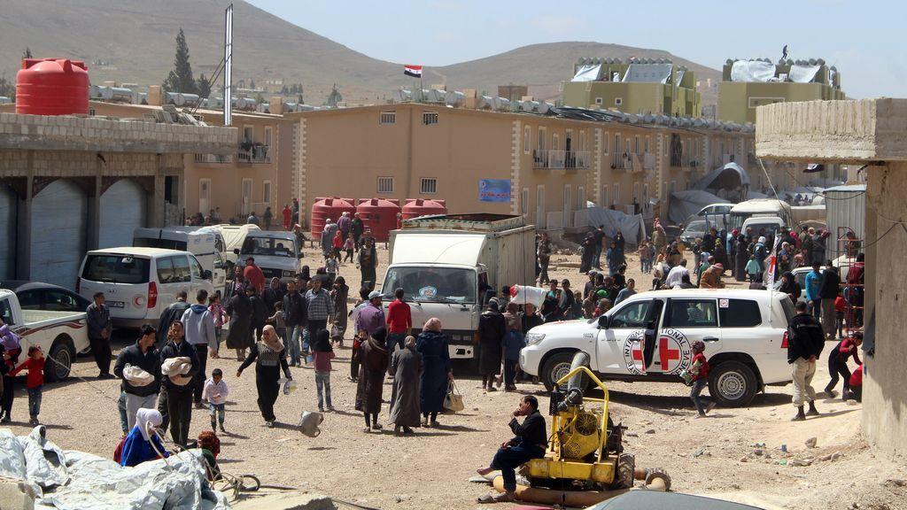 Finaliza la evacuación de los rebeldes de Faylaq al Rahman de Ghuta Oriental