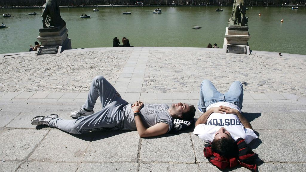 Sol y temperaturas en ascenso en casi toda España