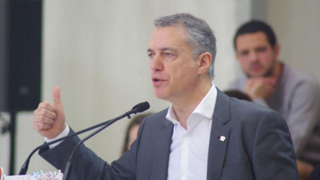 """Urkullu: """"El desafío"""" del PNV es """"la libertad de la nación vasca"""" y pide referéndums pactados"""