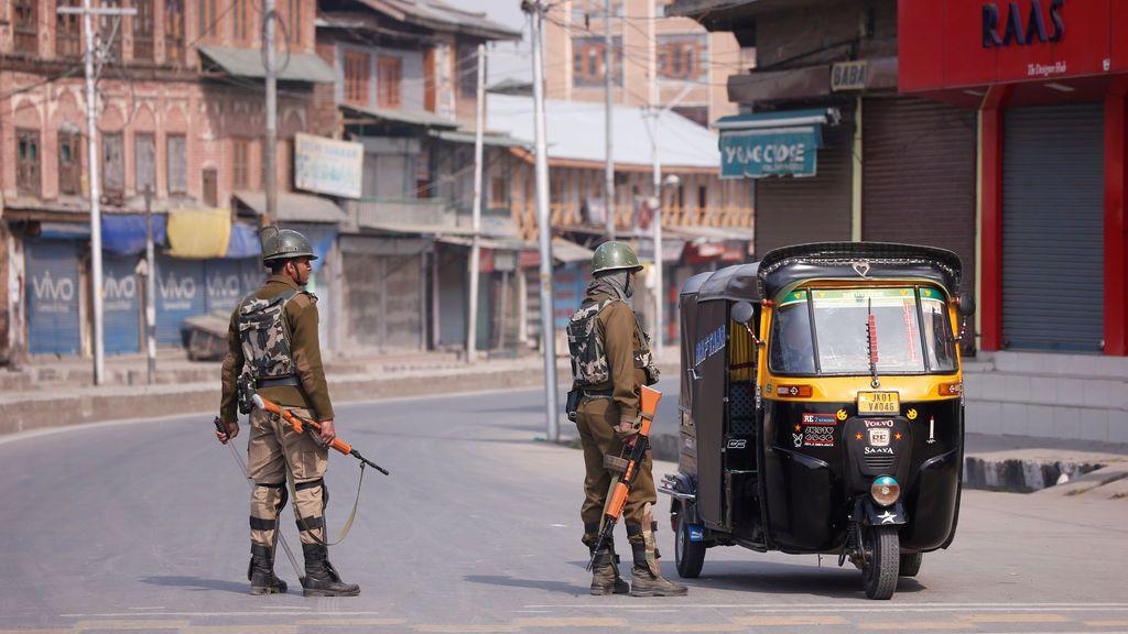 Huelga en la Cachemira india