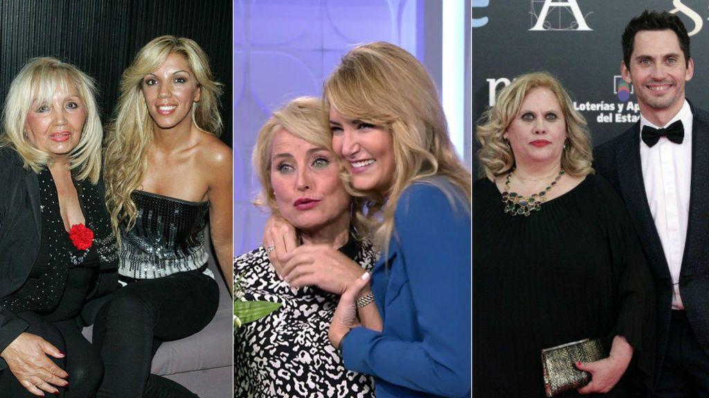 Franciska, Lucía Pariente, Carmina Barrios… Las madres de famosos que le han robado el foco a sus hijos