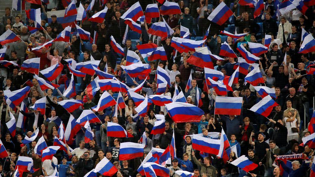 Rusia, Colombia, Brasil y Perú contarán con la mayor presencia de aficionados en el Mundial de Rusia