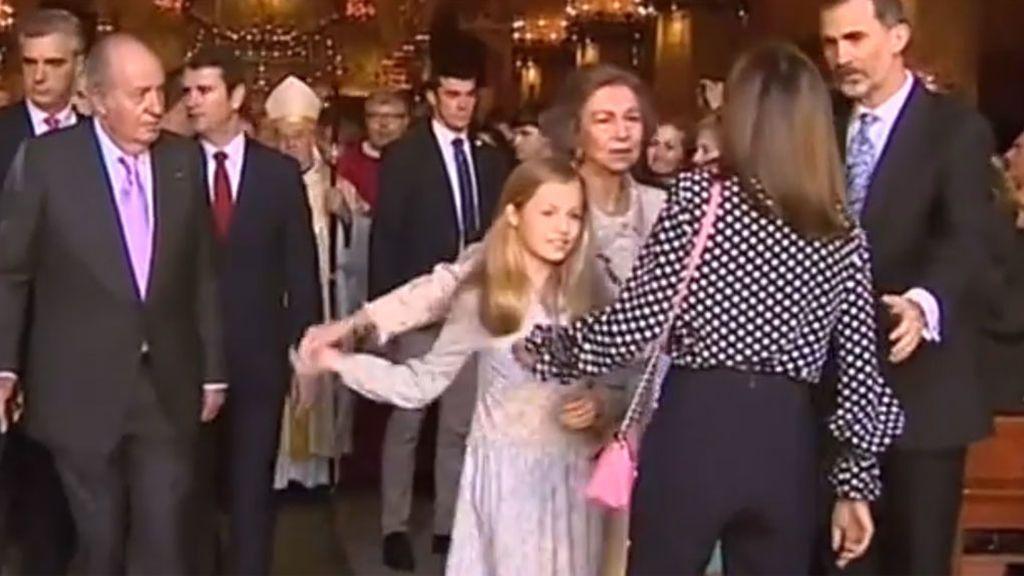 Las imágenes de las reinas Letizia y Sofía que han vuelto locas a las redes
