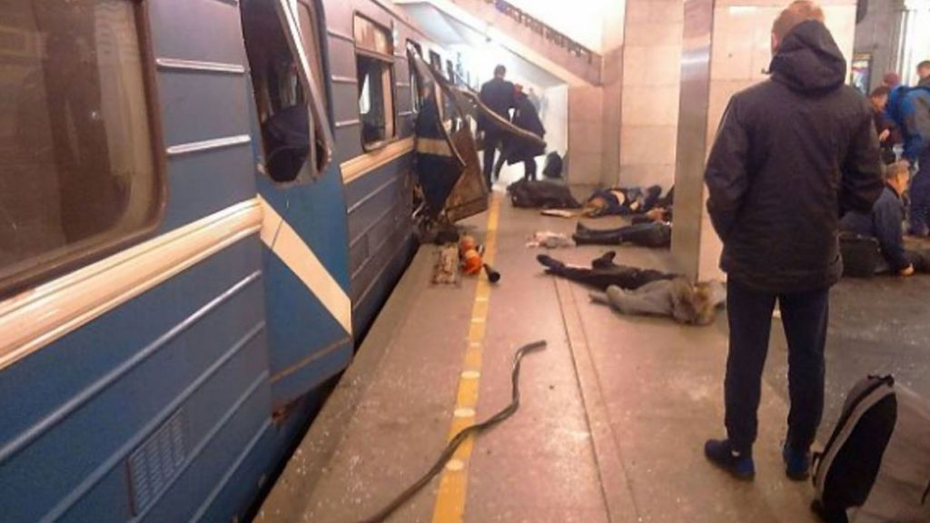 Rusia identifica a los terroristas del atentado en el metro de San Petersburgo