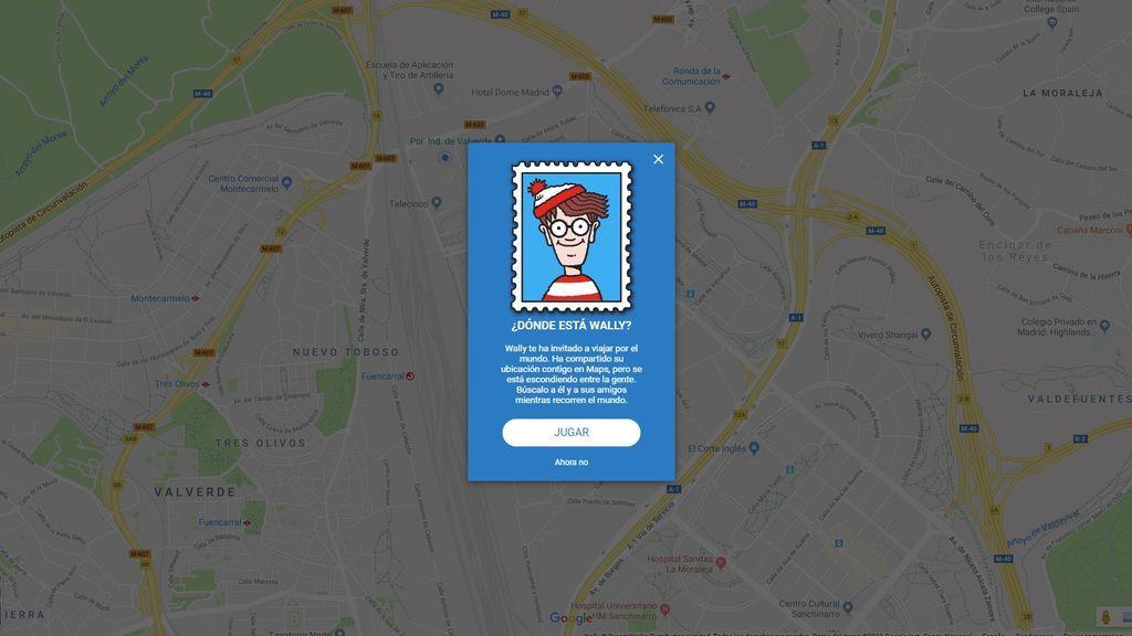 ¡Wally ha vuelto! Te enseñamos a buscarlo en Google Maps