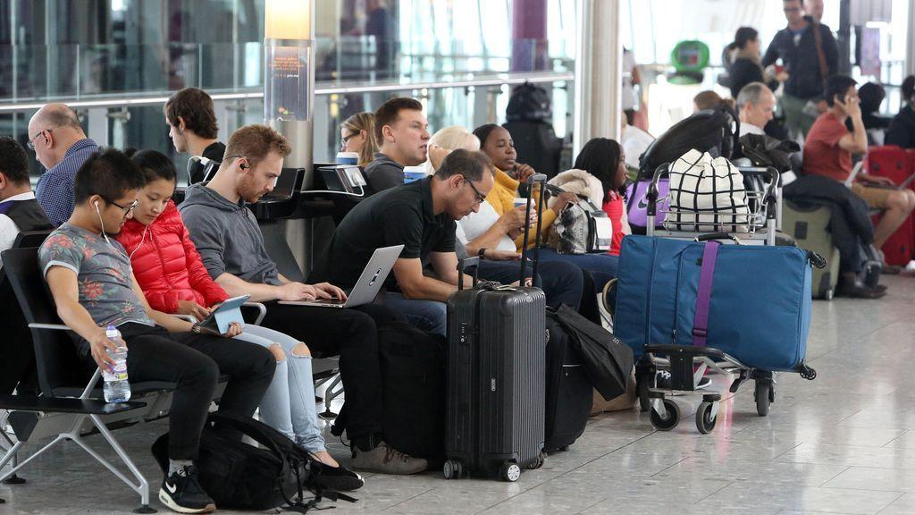 Un fallo técnico en el control de seguridad retrasa vuelos en toda Europa