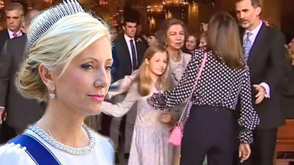 """Marie-Chantal Miller, sobre las imágenes de Letizia Ortiz con doña Sofía: """"Letizia está mostrando su verdadera cara"""""""