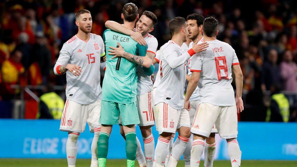 España llega al Mundial de Rusia con la mayor racha de imbatibilidad de todas las selecciones participantes