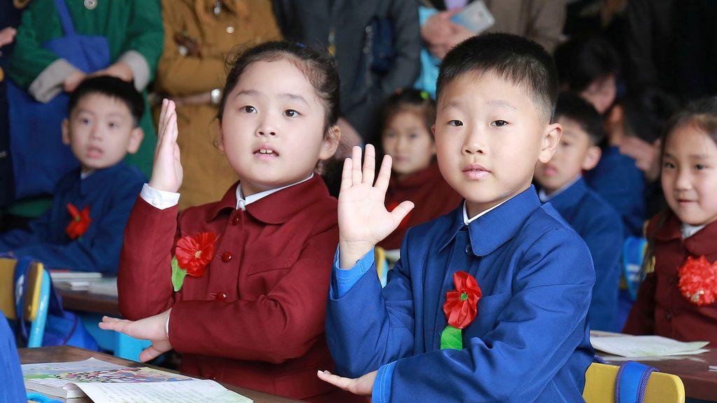 Comienzo del curso escolar en Corea del Norte