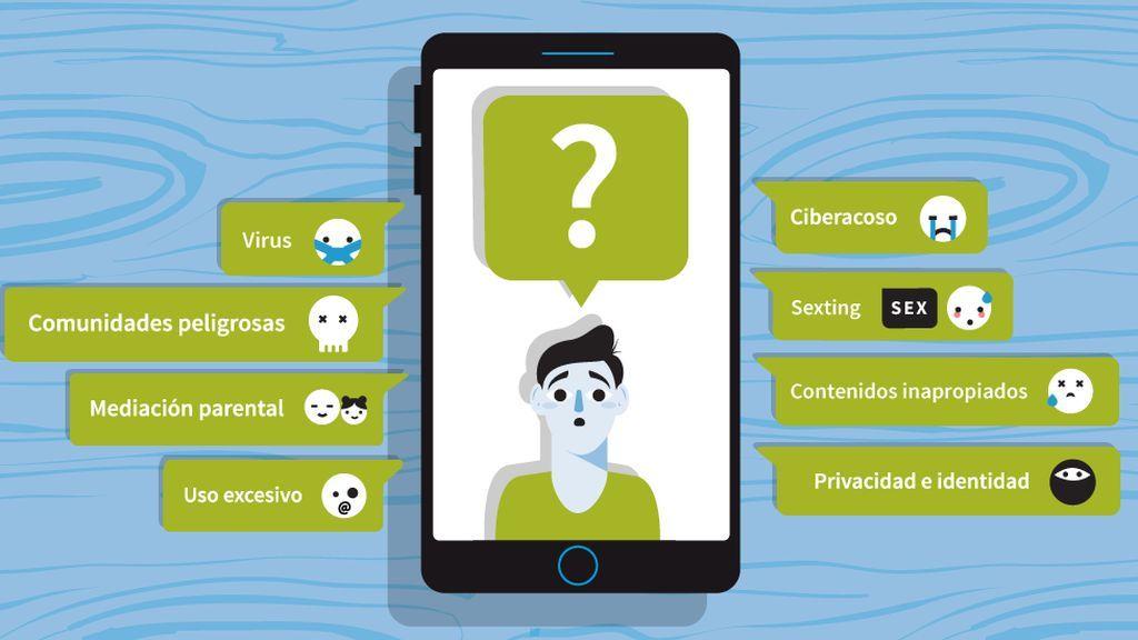"""Las tripas del teléfono que te ayuda con Internet y """"sus peligros"""""""