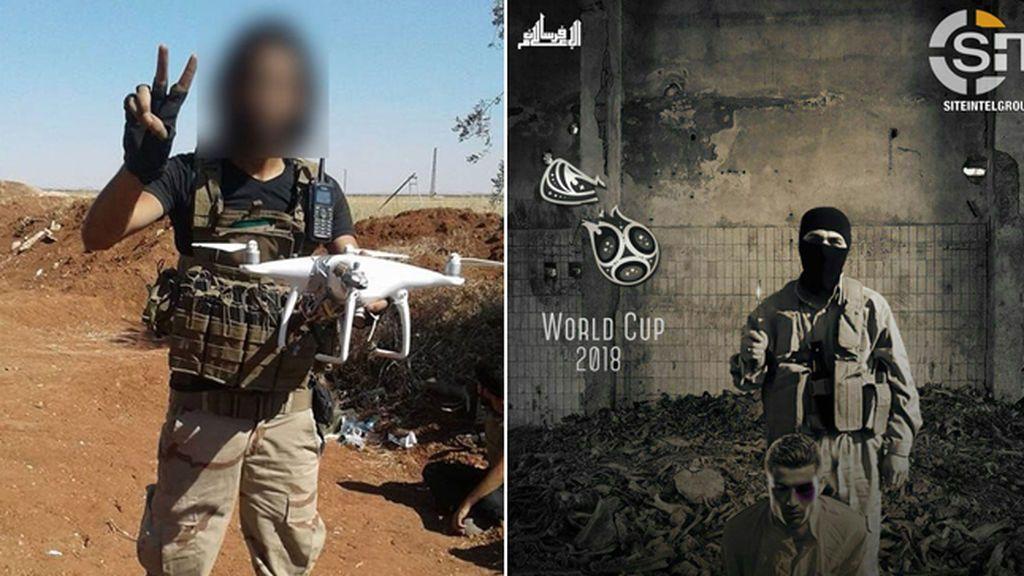 El ISIS amenaza ahora con ataques en el Mundial de Rusia con drones armados
