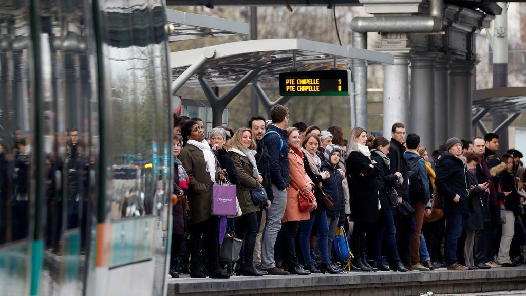 Huelga del ferrocarril en Francia