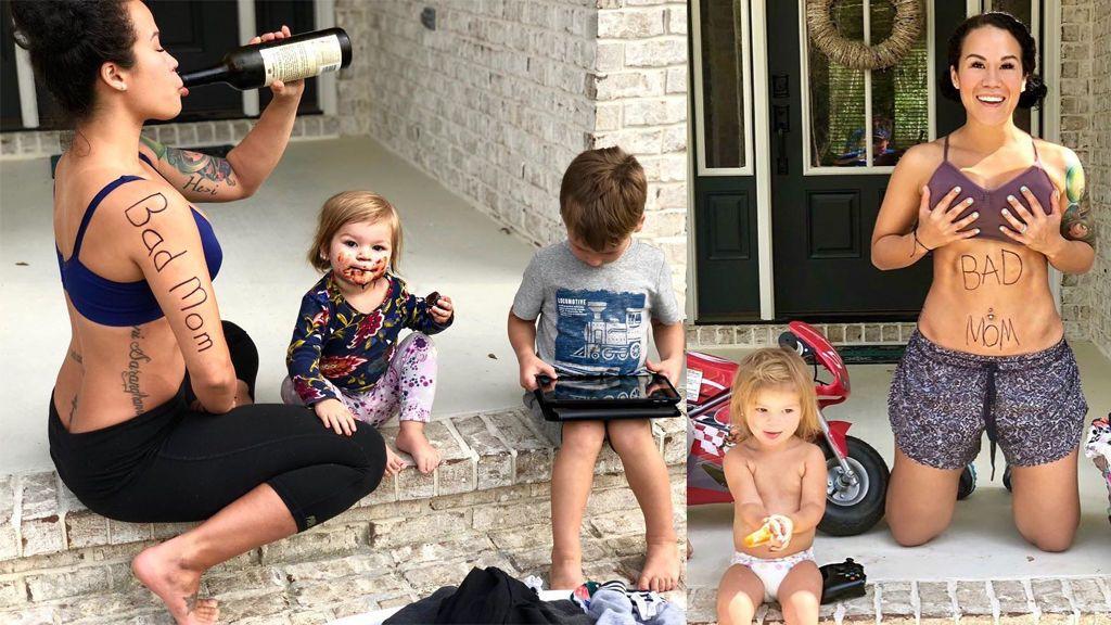 """""""Ser madre es lo suficientemente difícil"""": las 'malas madres' se revelan en Instagram"""