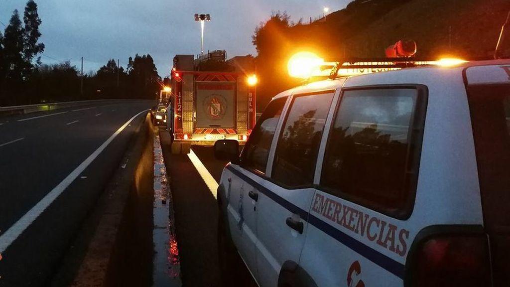 Un kamikaze que podría ir borracho y drogado deja tres heridos en Galicia