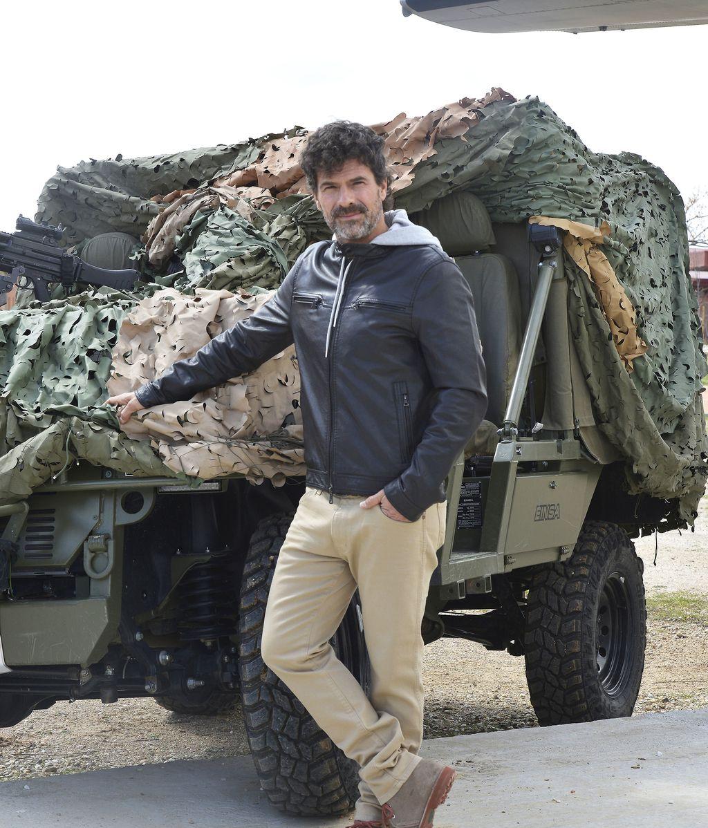 Rodolfo Sancho es Carlos Román, agente del CNI