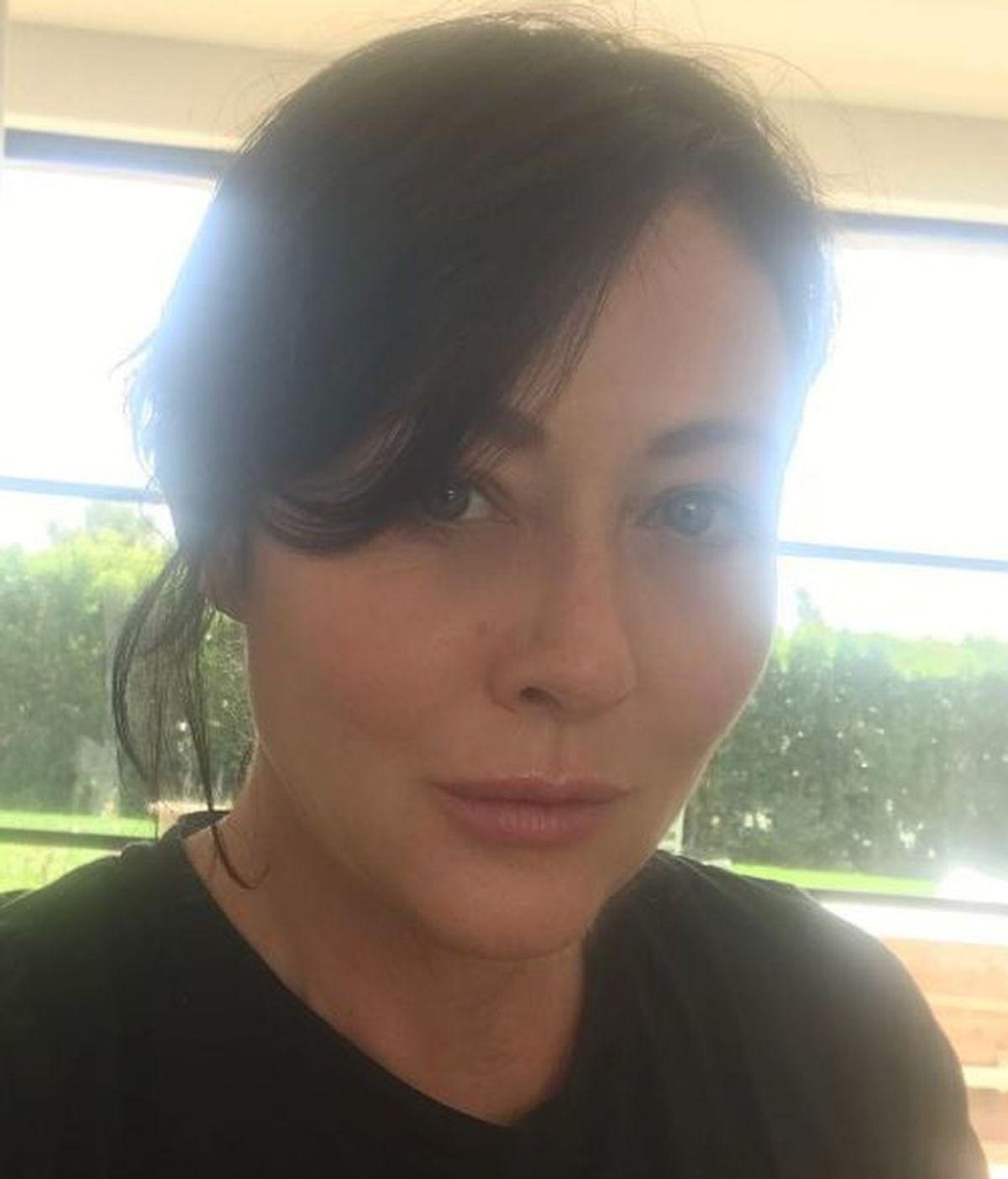 """Shannen Doherty se mantiene """"positiva"""" tras las últimas pruebas tumorales"""