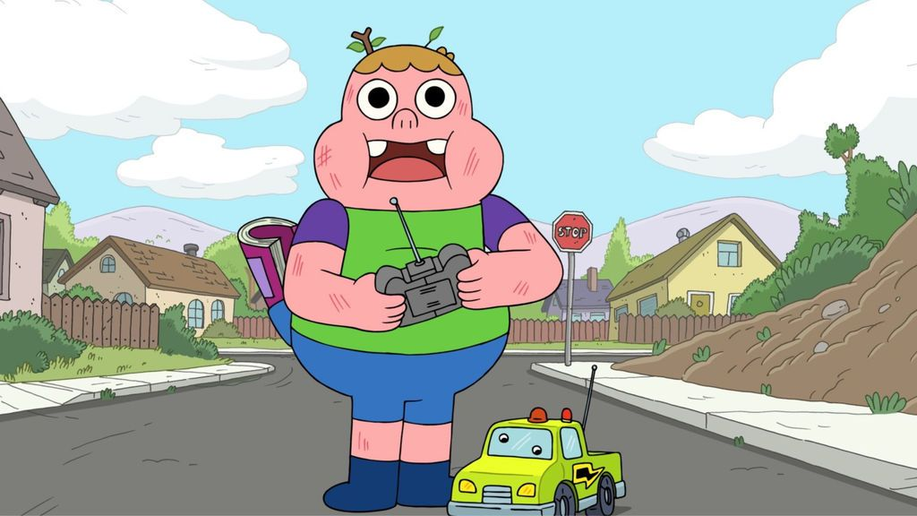 Clarence serie Boing